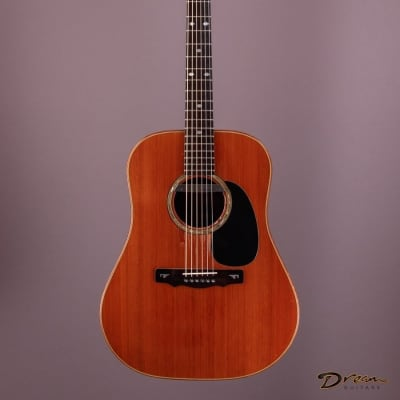 1978 David Russell Young Dreadnought, Brazilian Rosewood/Cedar for sale