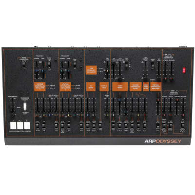 Korg Arp Odyssey Synth Duophonic Module Black Rev3