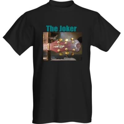 The Joker Guitar  Black Short Sleeve TEE Shirt  XLarge