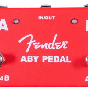 Fender ABY Footswitch Red for sale