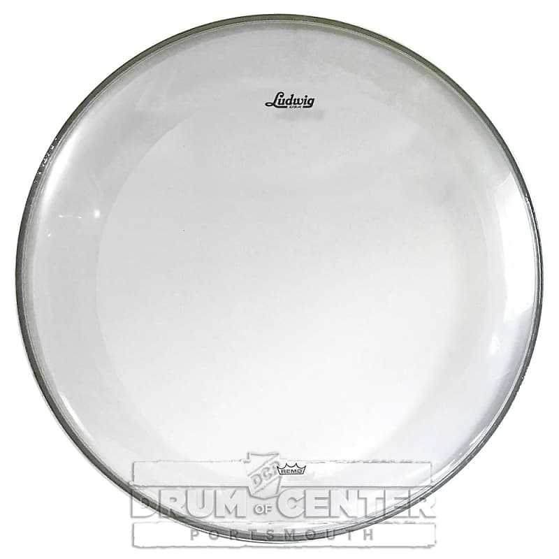 ludwig bass drum heads 22 powerstroke 3 clear reverb. Black Bedroom Furniture Sets. Home Design Ideas