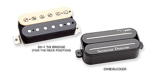 NEW Seymour Duncan Dimebucker & 59 Dimebag PICKUP SET | Reverb on