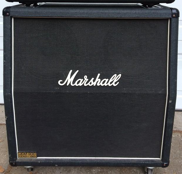 marshall jcm 900 lead 1960a speaker cab with celestion reverb. Black Bedroom Furniture Sets. Home Design Ideas