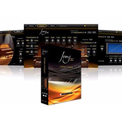 New ILIO Ilio Synthogy Ivory II Upright Pianos Virtual Instrument Software Boxed Product Mac/PC