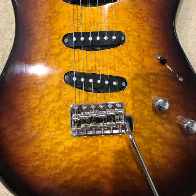 Handcrafted Custom Cargill Electric  Strat Plus for sale