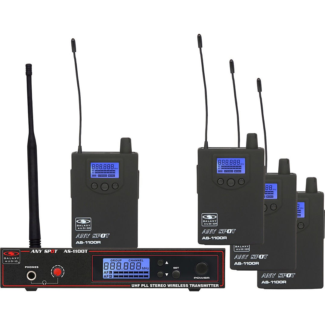 galaxy audio as 1100 4n any spot wireless in ear monitor reverb. Black Bedroom Furniture Sets. Home Design Ideas