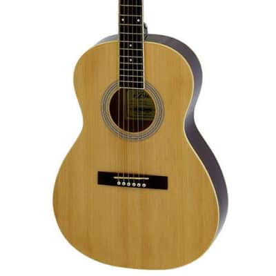 Aria AP-15 Parlour Acoustic Guitar in Natural for sale