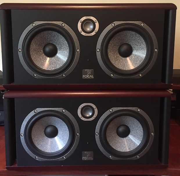 focal twin6 be powered studio monitors pair reverb. Black Bedroom Furniture Sets. Home Design Ideas