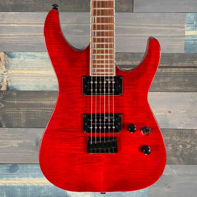 ESP LTD H-200 FM See Thru Red S/ N 18021037 for sale