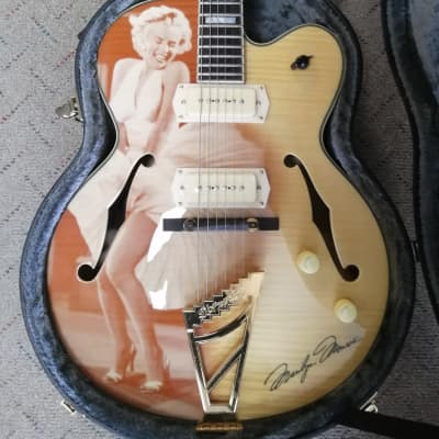 *Black Friday Special* D'Angelico EX-59 guitar, Marilyn Monroe limited edition for sale