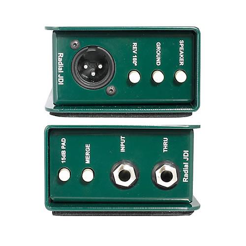 Radial jdi jensen transformer passive di box for 2 aggiunta di box auto