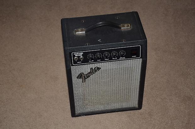 excellent 1981 fender harvard reverb combo guitar amp safe reverb. Black Bedroom Furniture Sets. Home Design Ideas