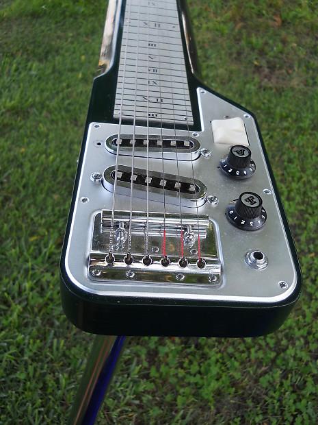 39 60s guyatone hg 96c hawaiian lap steel guitar orig case reverb. Black Bedroom Furniture Sets. Home Design Ideas