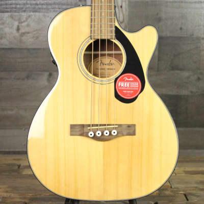 Fender CB-60SCE Bass - Natural