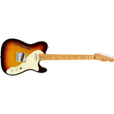 Fender American Original '60s Telecaster Thinline Maple Fingerboard, 3 Colour Sunburst for sale