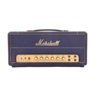 Marshall Limited Edition SV20H Studio Vintage Navy Levant 20W All-Valve Plexi Head w/FX Loop & DI