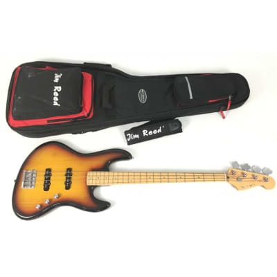 Jim Reed Jazz Bass con custodia e tracolla for sale