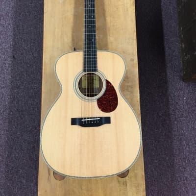 Eastman E6OME-LTD OM Style Acoustic/Electric Guitar W/Fishman Pickup