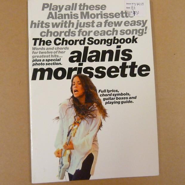Chord Songbook Alanis Morissette Lewthwaitemusic Reverb