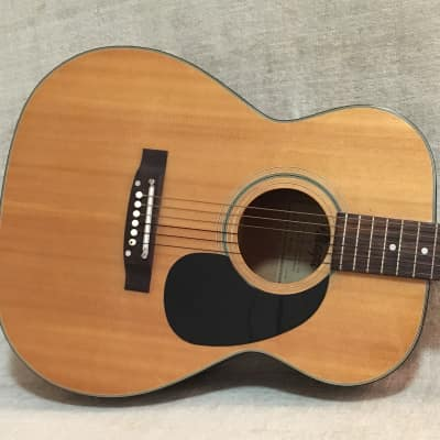 Maya F301 Acoustic Guitar 1970's Natural for sale
