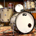 DW Collector's Maple/Mahogany Drum Set  - 13x9, 16x16, 22x14 - Creme Oyster