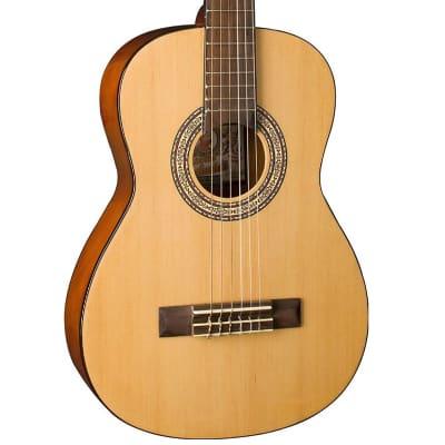 Oscar Schmidt OCHS 1//2 Size Classical Guitar High Gloss