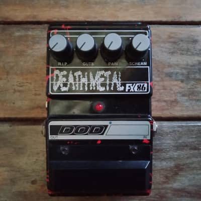 DOD Death Metal Distortion Lamb SERIES