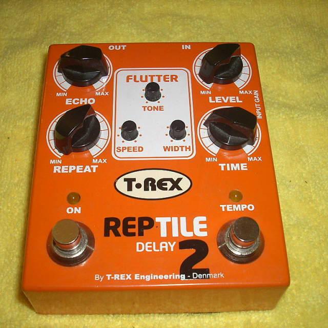 T-Rex Reptile 2 - Tap Tempo Delay image
