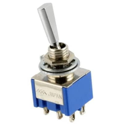 Mini Toggle Switch - DPDT On On On