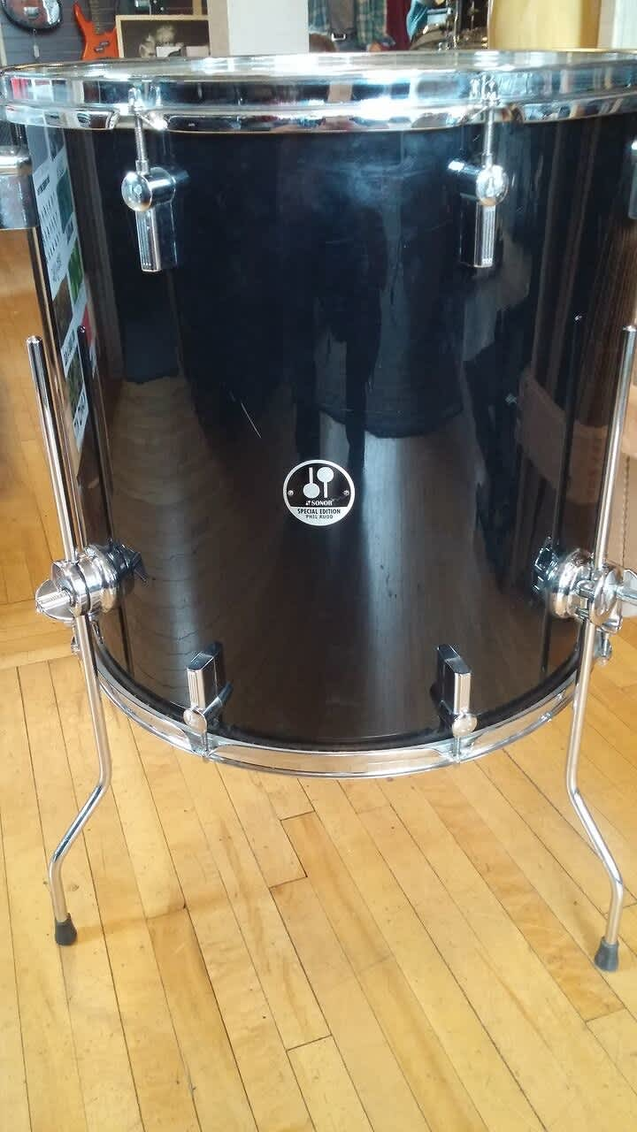 sonor phil rudd 18x18 floor tom reverb