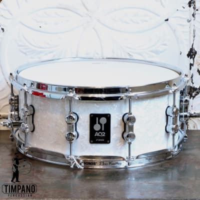 Sonor AQ2 White Pearl Snare Drum 14X6in