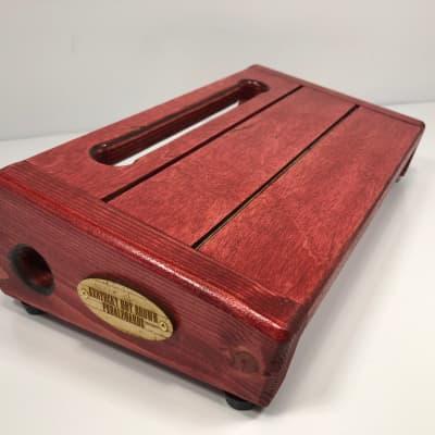 Hot Box - Slat Back - Mini Red Barn Wood by KYHBPB - P.O.