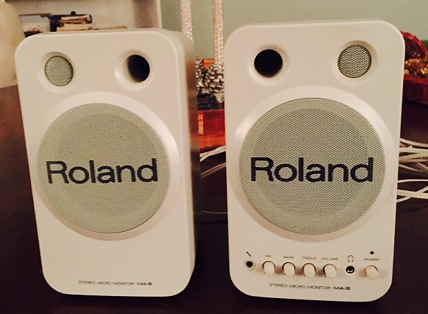 Ongekend Roland MA-8 Stereo Micro Monitor Speakers, used (pair) | Reverb JJ-54