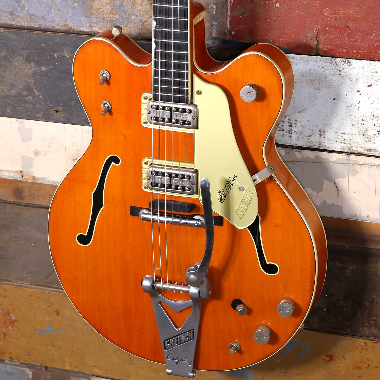 1965 Gretsch 6120 Double Cut Chet Atkins Orange