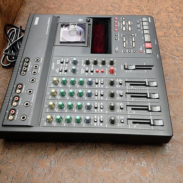 Yamaha Md Minidisc Multitrack Recorder