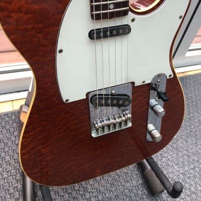 Tokai Breezysound TTE-60 TM Quilted Top Japan Telecaster Seymour Duncan Pickups Fender Beater