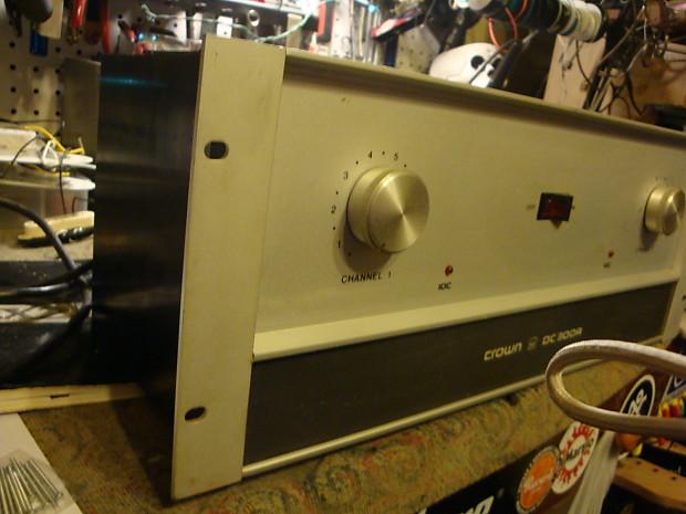 vintage crown dc 300 a 2 ch stereo power amplifier monster reverb. Black Bedroom Furniture Sets. Home Design Ideas