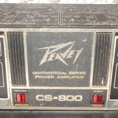 Peavey CS-800 power amplifier