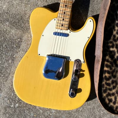 1973 Fender TELECASTER vintage guitar owned by Chicago blues icon JB HUTTO. Airline