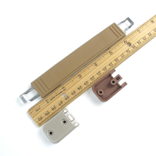 "8/"" Amp Handle Strap for Guitar Amplifiers Speaker Cabinet Tan //Chrome buckle"
