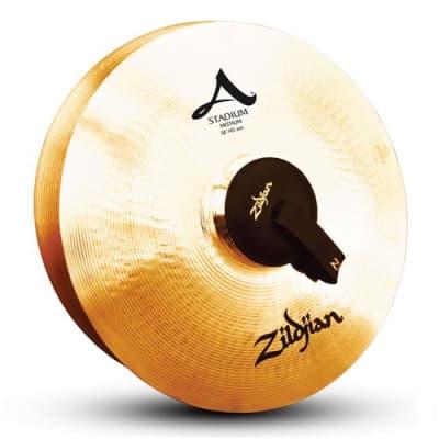 Zildjian A Orchestral Stadium 18  Hand Cymbal, Medium, Pair