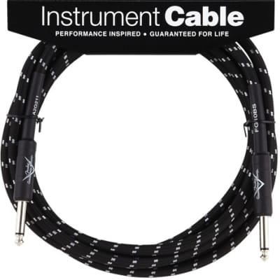 Fender® Custom Shop Cable, 10', Black for sale