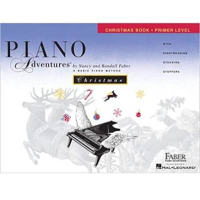 Piano Adventures: A Basic Piano Method - Christmas Book Primer Level