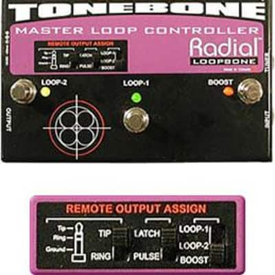 Radial Tonebone Loopbone Insert Two Separate Pedal Effects Chains ect