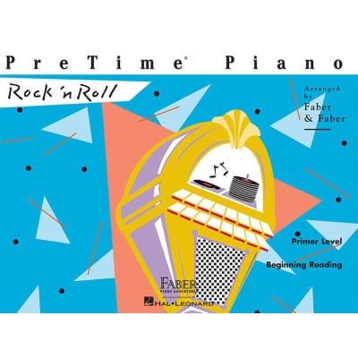 PreTime Piano: Rock 'n Roll - Primer Level: Beginning Reading (Faber Piano Adventures)