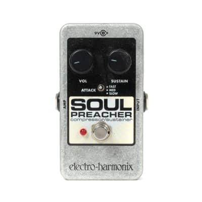 Electro-Harmonix Soul Preacher Compressor Pedal (USED) x8116