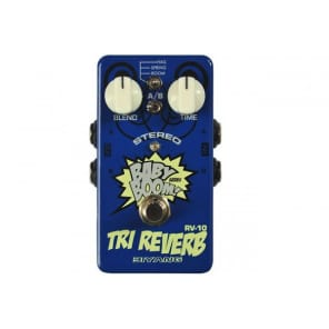 NEW BIYANG RV-10 Tri-Reverb Stereo Reverb Pedal for sale