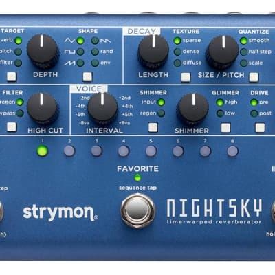 Strymon NightSky Time-Warped Reverberator Effects Pedal