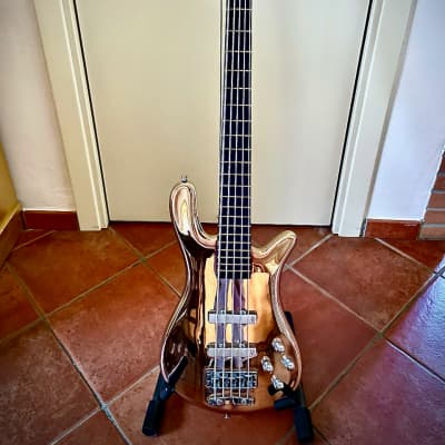 Warwick Streamer 5 strings CT Chrome limited edition 2005 Chrome for sale