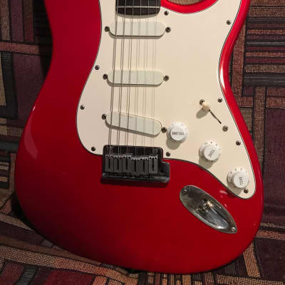 Fender Strat Plus 1990 Candy Apple Red for sale